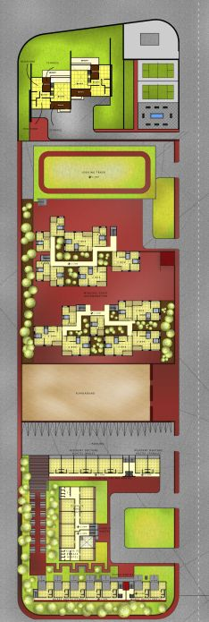 Residential First Floor Plan